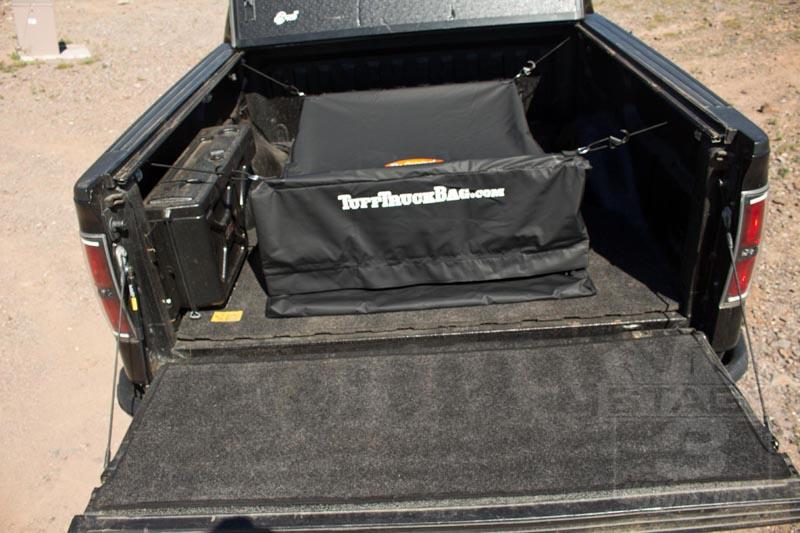 F150 Super Duty Tuff Truck Cargo Bed Storage Bag Black Ttbblk