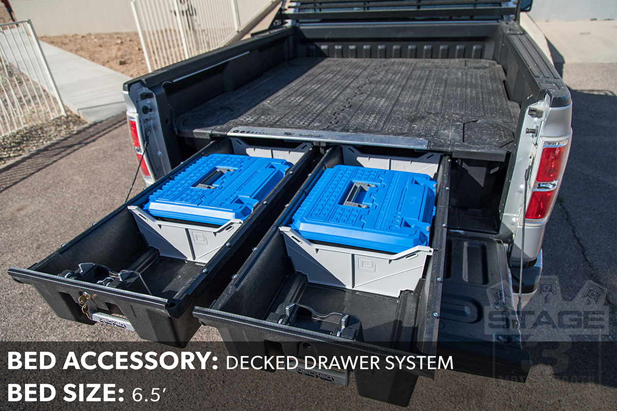 F150 Decked Bed Drawers