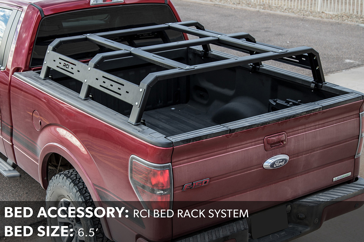 F150 RCI Bed Rack System