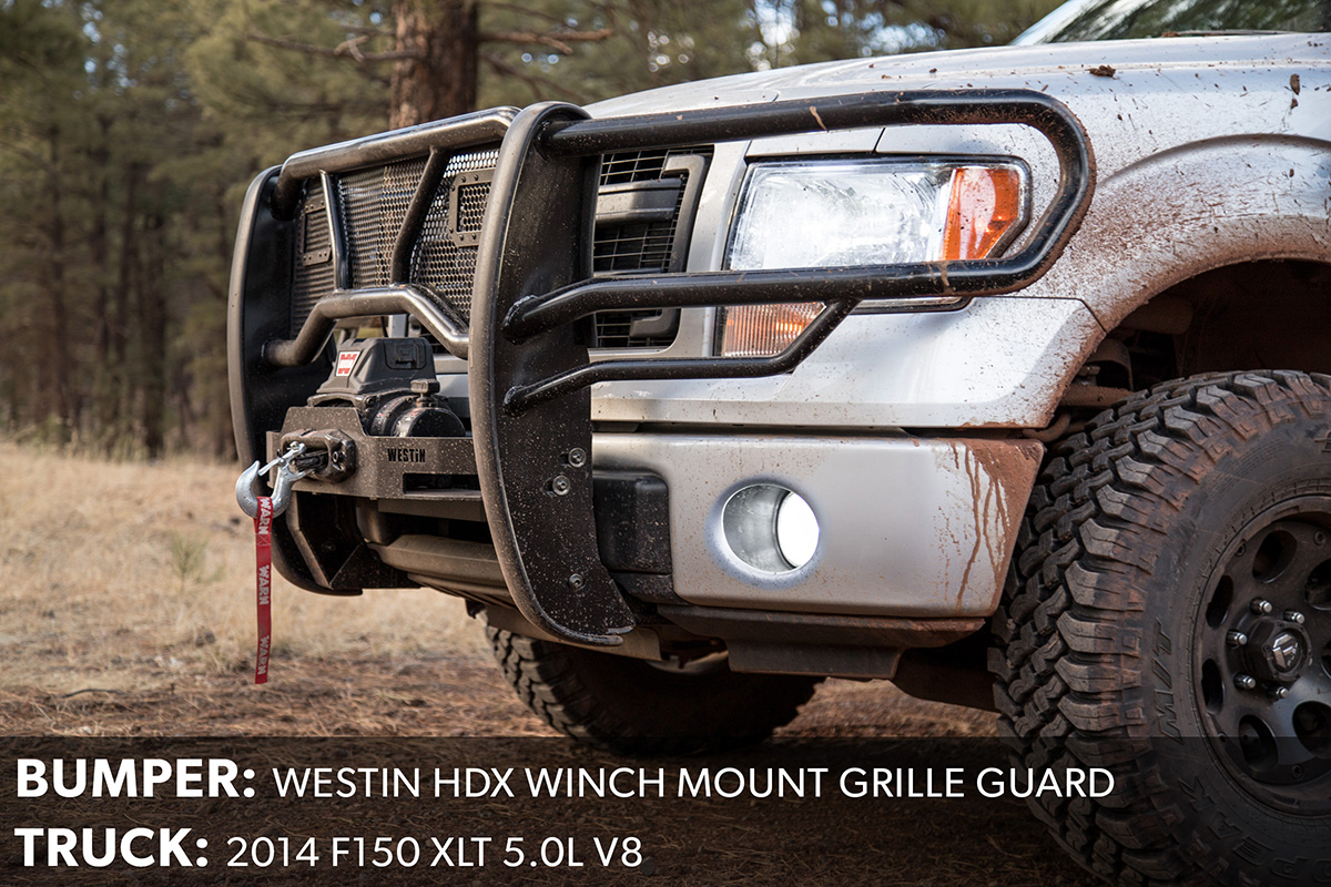 F150 Westin Winch Mount Grille Guard