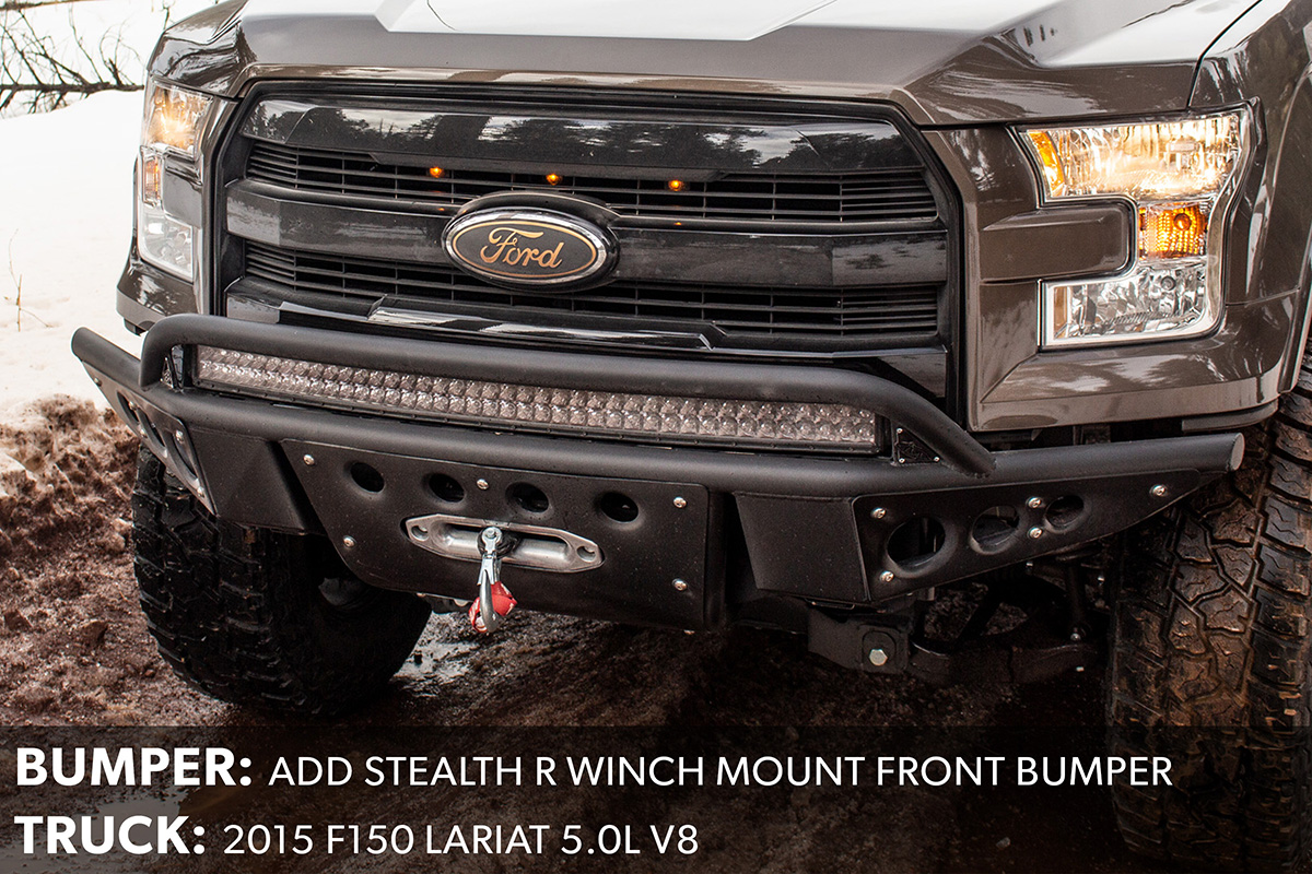 F150 ADD Stealth Winch Bumper