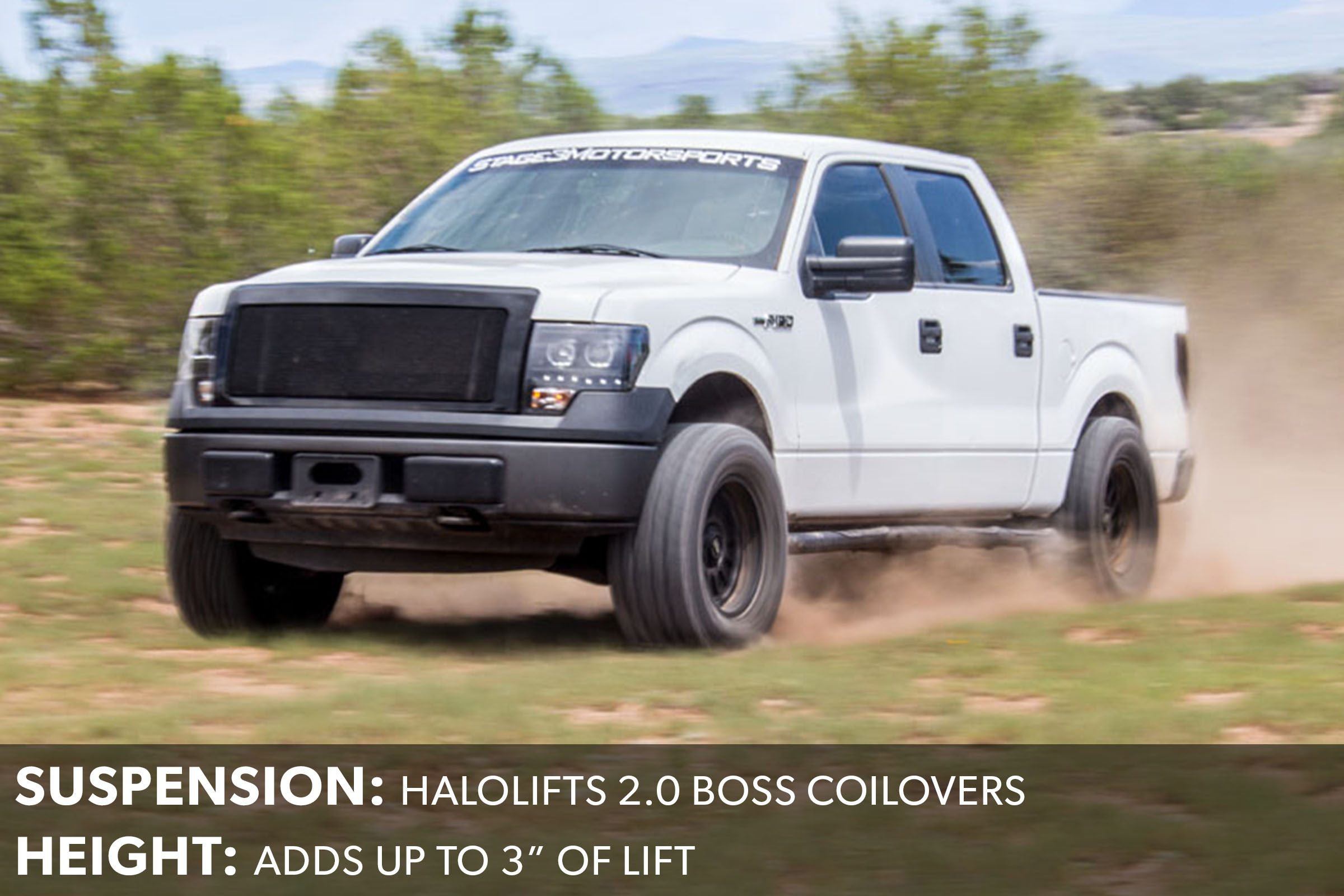 F150 HaloLifts Boss 2.0 Coilovers