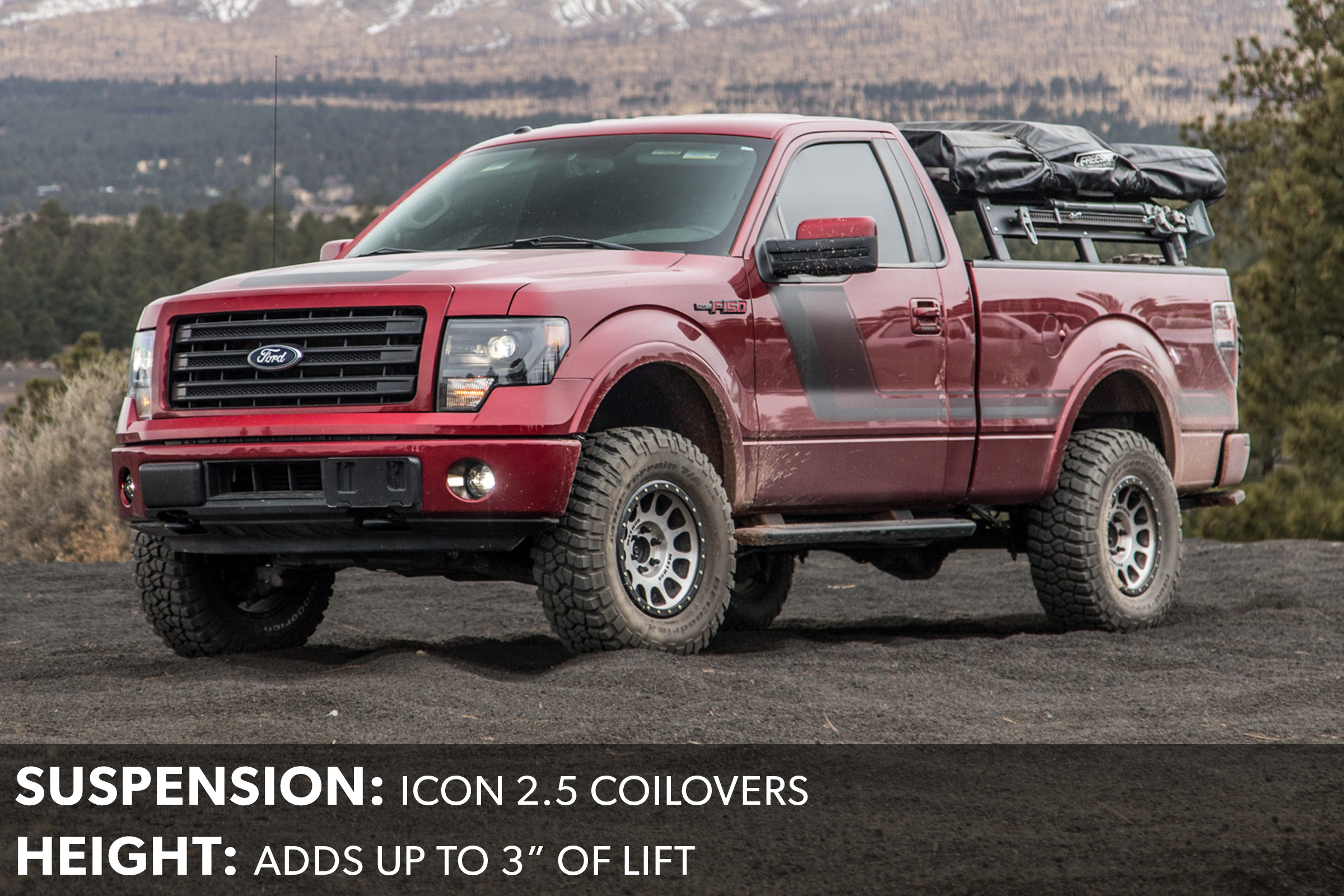 F150 Icon 2.5 Front Coilovers