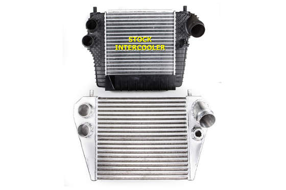 F150 Stock Intercooler vs. ATP Intercooler
