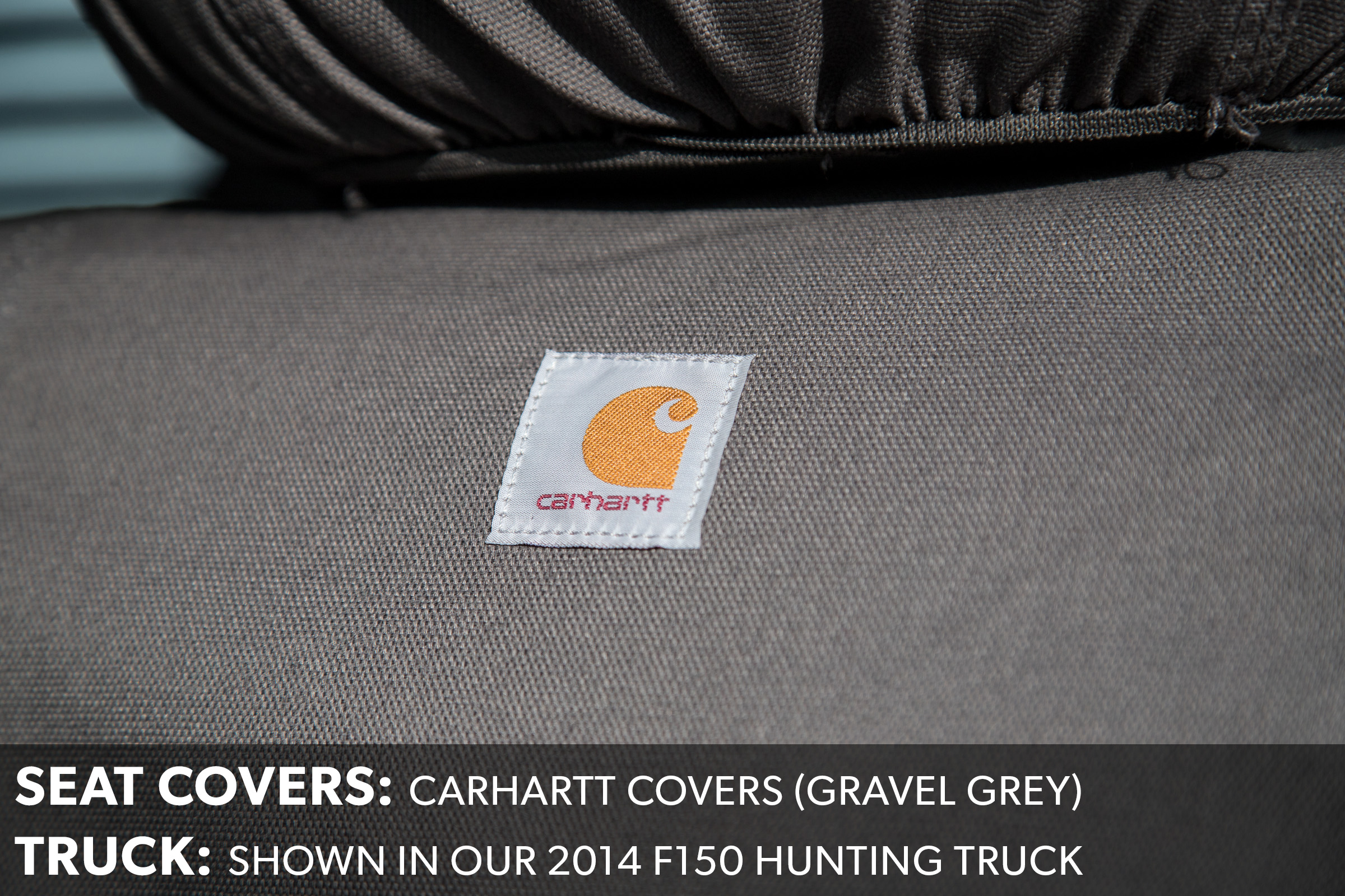 F150 Carhartt Seat Covers Grey