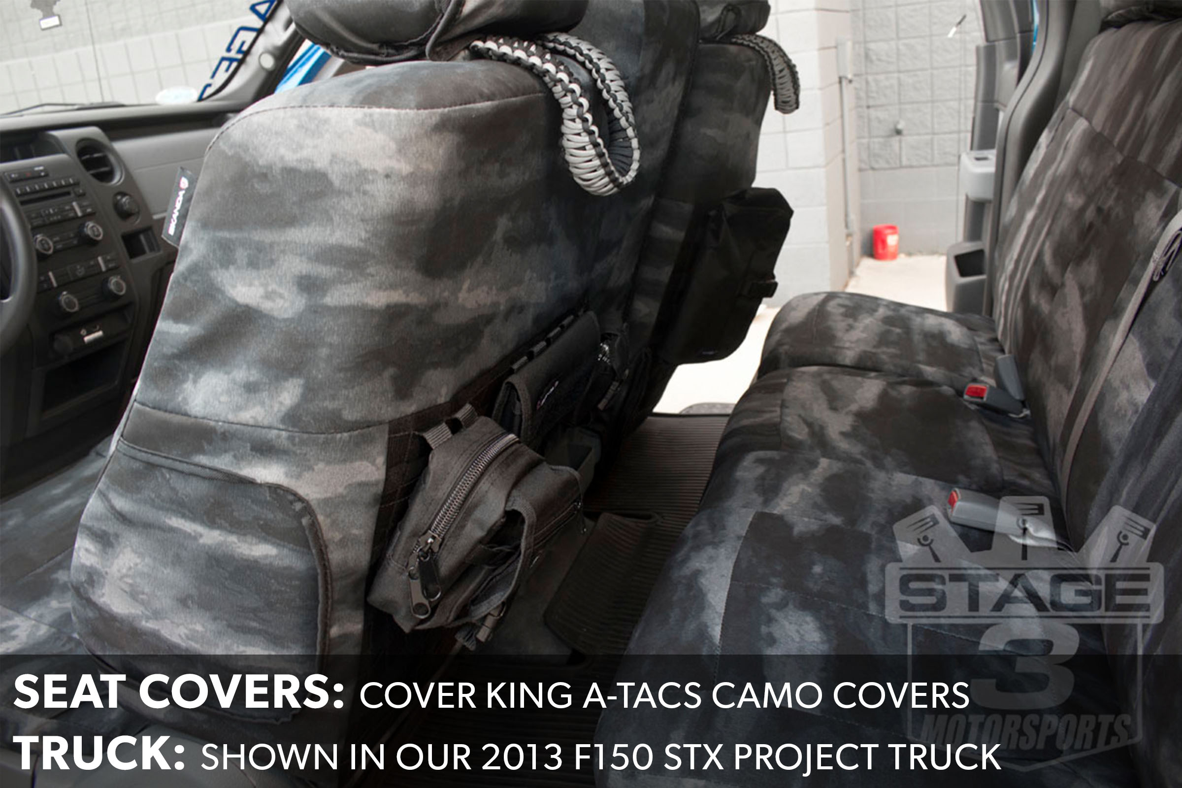 F150 CoverKing Seat Covers