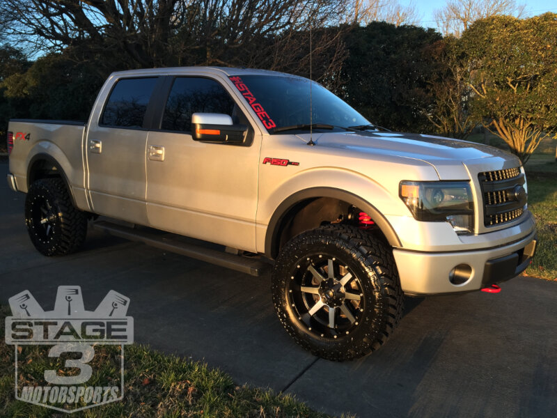 2009 2013 F150 4wd Boss 0 3 Adjustable Coilover Lift Leveling Kit