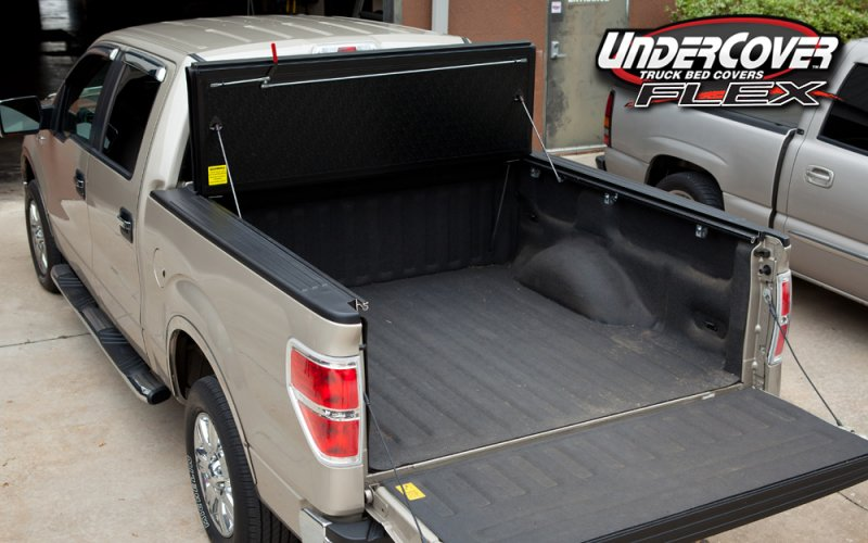2018 F150 Lift >> 2004-2014 F150 Undercover Flex Tri-Fold Tonneau Cover (5.5ft Bed) FX21002