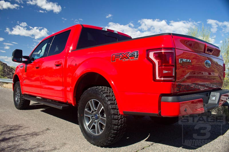 2014-2019 F150 4WD FOX Stage 1 Suspension Package FOX ...
