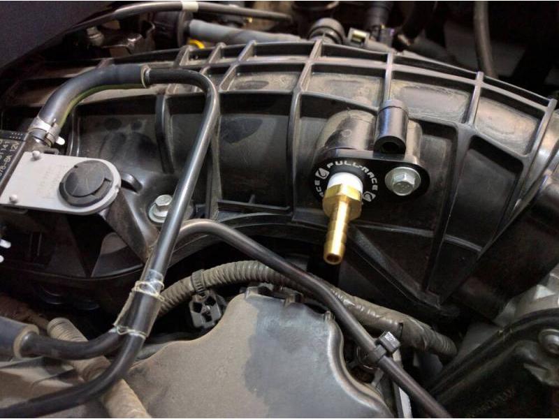 2011-2014 F150 3 5L EcoBoost Full-Race Oil Catch Can & PCV Delete Kit
