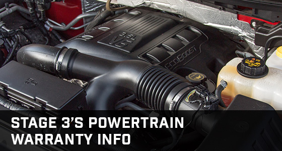 Stage 3's Aftermarket Powertrain Warranty