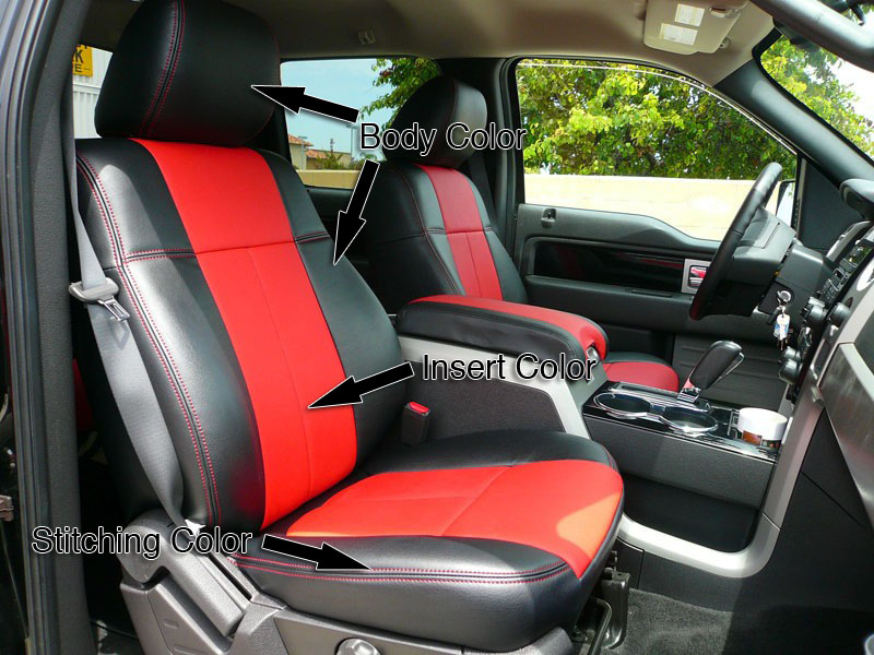 Miraculous 2009 2014 F150 Clazzio Leather Seat Covers Claz 72 Gmtry Best Dining Table And Chair Ideas Images Gmtryco