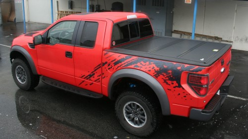 2010 2014 ford raptor parts and accessories buyers guide 2010 2014 raptor svt bakflip tonneau cover voltagebd Choice Image