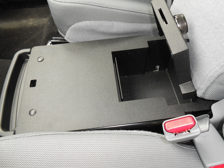 F150 Under Seat Storage >> 2011-2014 F150 Console Vault Under Front Middle Seat Gun Safe 1049-F150