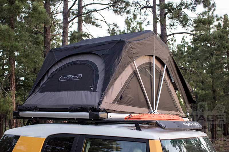 Hover to zoom & Freespirit Recreation High Country Edition Medium Rooftop Tent (2 ...