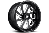 6x139.7mm Bolt Pattern Fuel Flow 6 D587 20x10