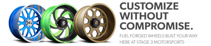 Custom Fuel Forged Wheel Options!