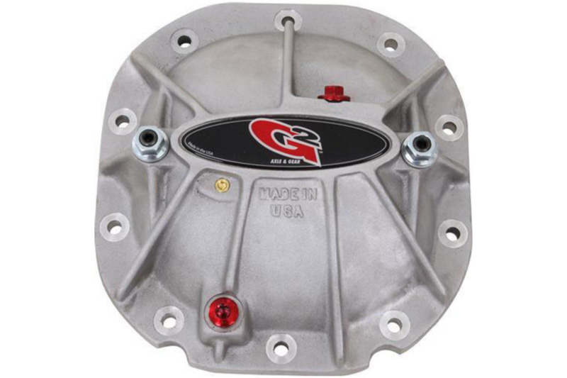 1983-2014 F150 G2 Axle & Gear Torque Series Silver Rear Differential Cover (Ford 8.8