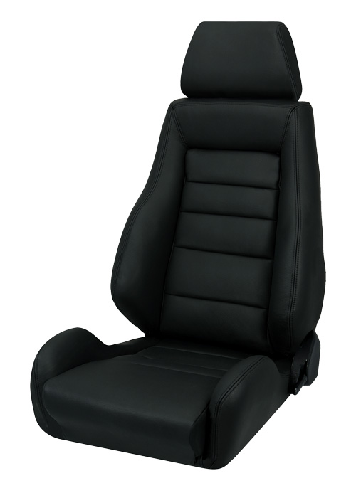 Corbeau Gts Ii Racing Seat Black Leather L20301