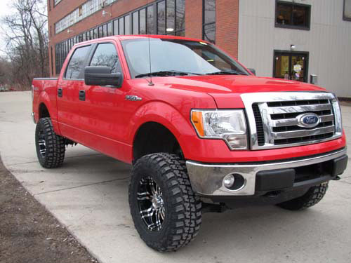 2009 2010 F150 4wd Rough Country 6 Inch Lift Kit 598s
