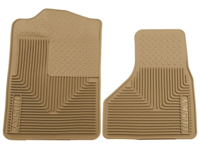Set of 2 Lund 602667 Catch-All Carpet Beige Front Floor Mat