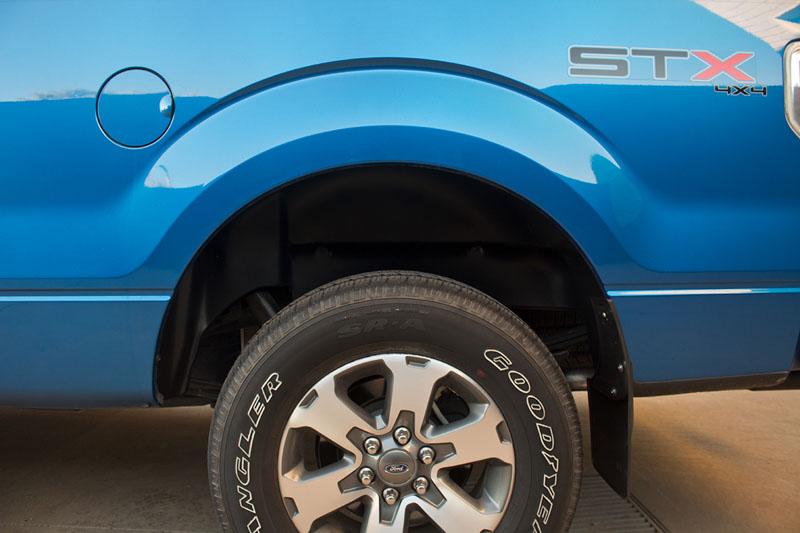 2006-2014 F150 Husky Rear Wheel Well Guards (Pair) 79101