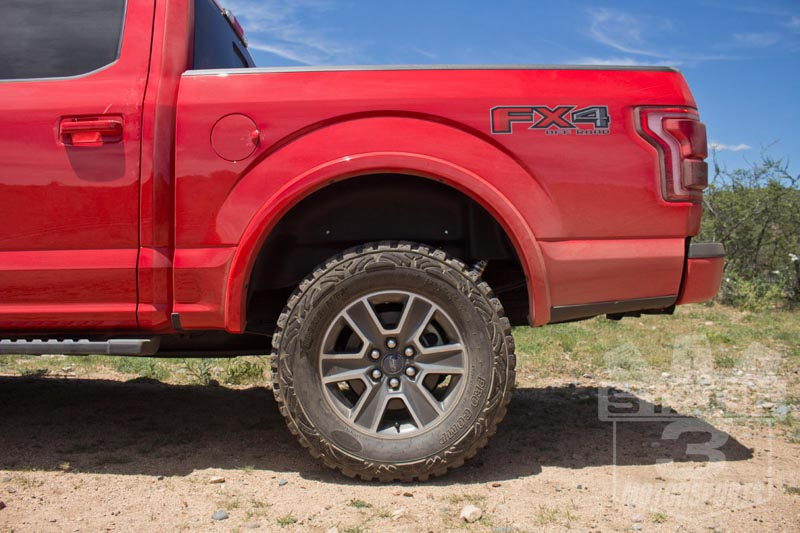 2015 2018 F150 Husky Rear Wheel Well Guards Pair 79121