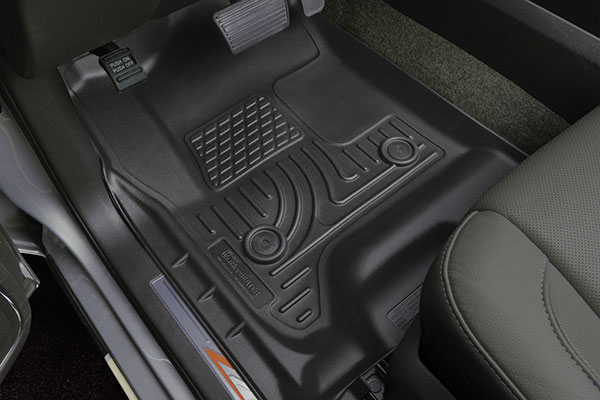 2015 2017 Mustang Husky Front Amp 2nd Row Floor Mats Black