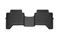 2019 Ranger SuperCrew Husky WeatherBeater Rear Floor Mat (Black)