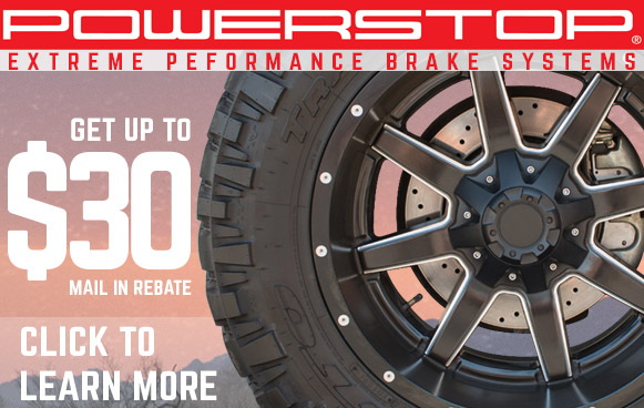 Power Stop May Rebate!
