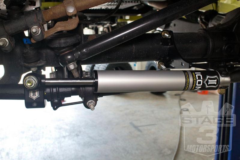 2005-2016 F250 & F350 4WD ICON Dual Steering Stabilizer Bracket Kit
