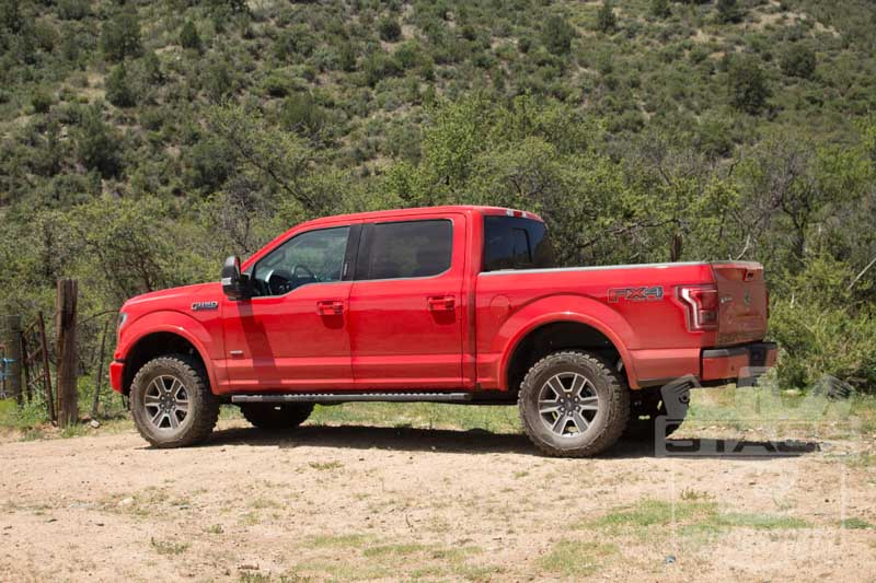 """Ford F150 Lift >> 2015-2018 F150 4WD ICON Stage 2 0-2.5"""" Suspension System K93082"""
