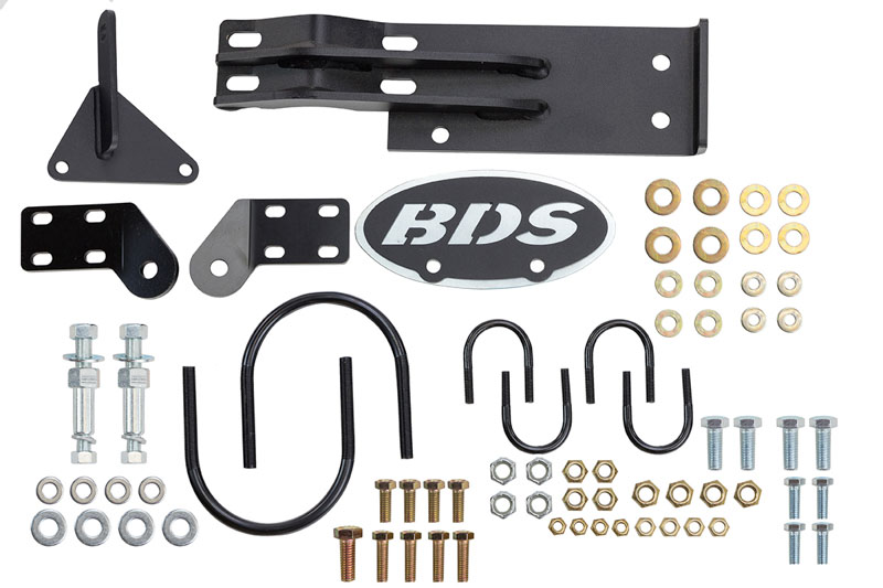 1999-2004 F250 & F350 BDS Dual Steering Stabilizer Bracket
