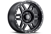 6x139.7mm Bolt Pattern ICON Six Speed 17x8.5