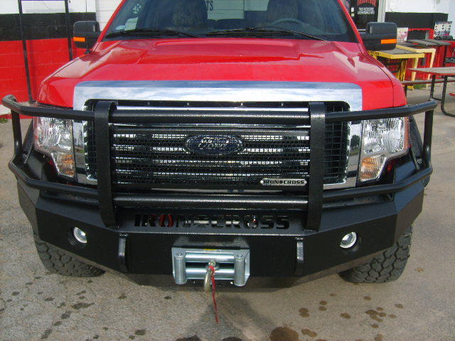1997 2003 F150 Iron Cross Replacement Front Bumper W Full