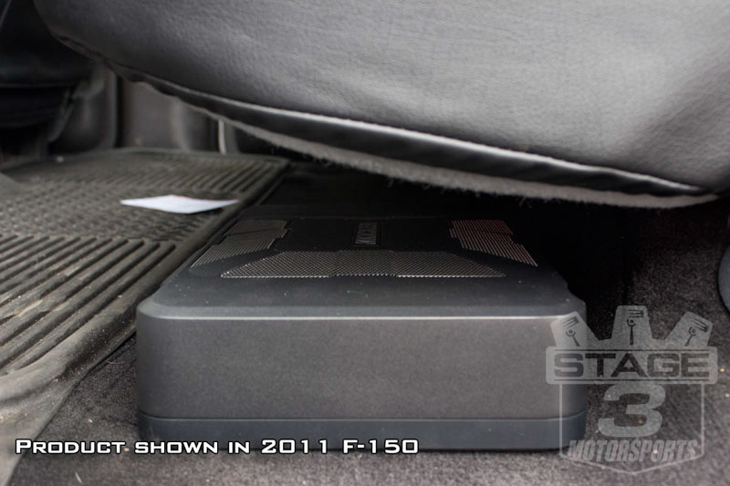 """Kicker 8"""" Hideaway Subwoofer with Enclosure & 150W"""