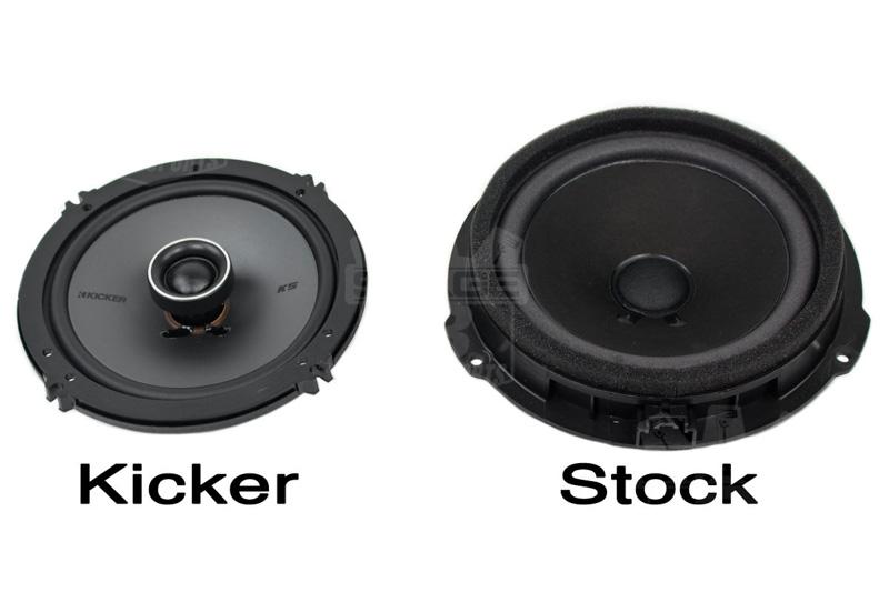 2015 2017 Mustang Kicker Ks654 6 5 Quot Door Speaker Upgrade