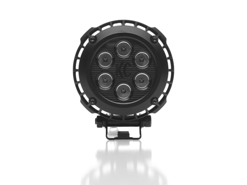 Kc Hilites 4 Quot Lzr Series Round Led Driving Pattern Off Road Light Pair Package 300