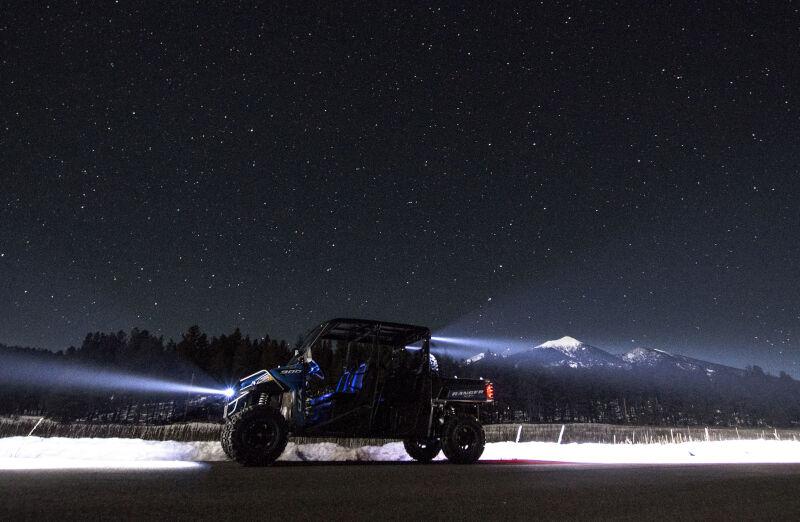 kc hilites flex  road led modular lighting system spot beam single