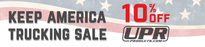 Keep America Trucking Sale 10% off UPR Products