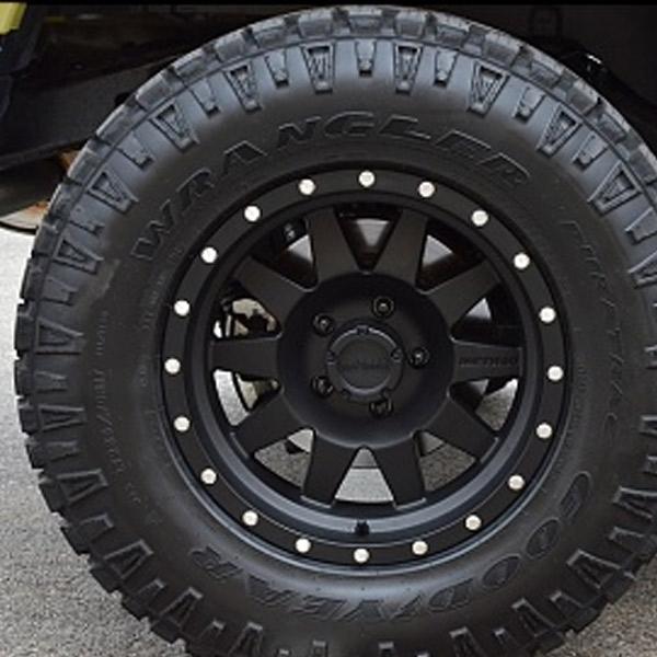 method    standard wheel matte black  offset