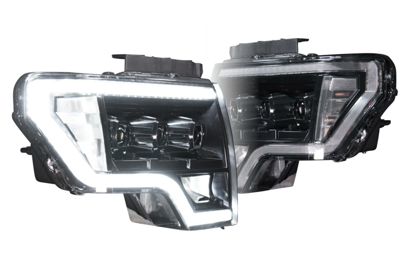 headlights f150 xb led ford morimoto 2009 housings raptor hid factory drl