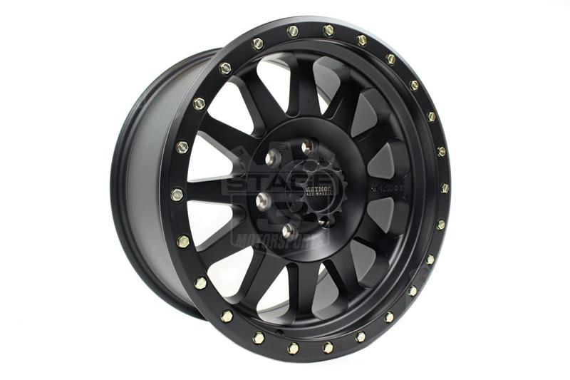 Mrwmr F Method X Double Standard Wheel Matte Black on Ford F 150 With Method Standard S