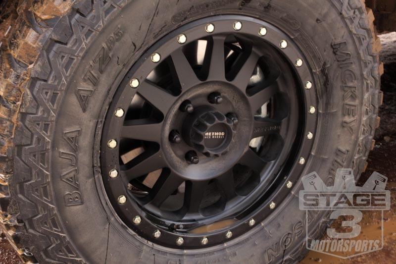 2015 F150 5.0L with Method Double Standard Wheels and Mickey Thompson Baja ATZ P3s