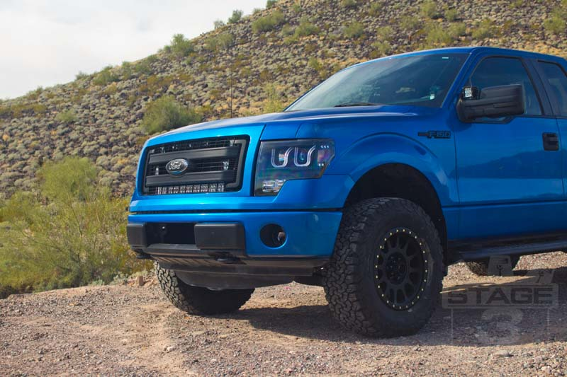 2009-2013 F150 4WD FOX Stage 1 Suspension Package FOX ...