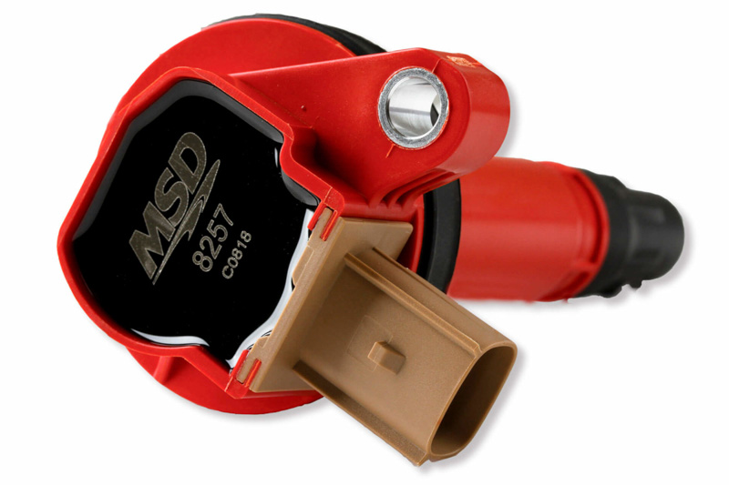 2011-2014 F150 3 5L EcoBoost MSD Red Blaster Coil Packs Set of 6