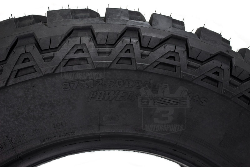 37x12 50r20lt Mickey Thompson Baja Atz P3 Radial Tire Mt