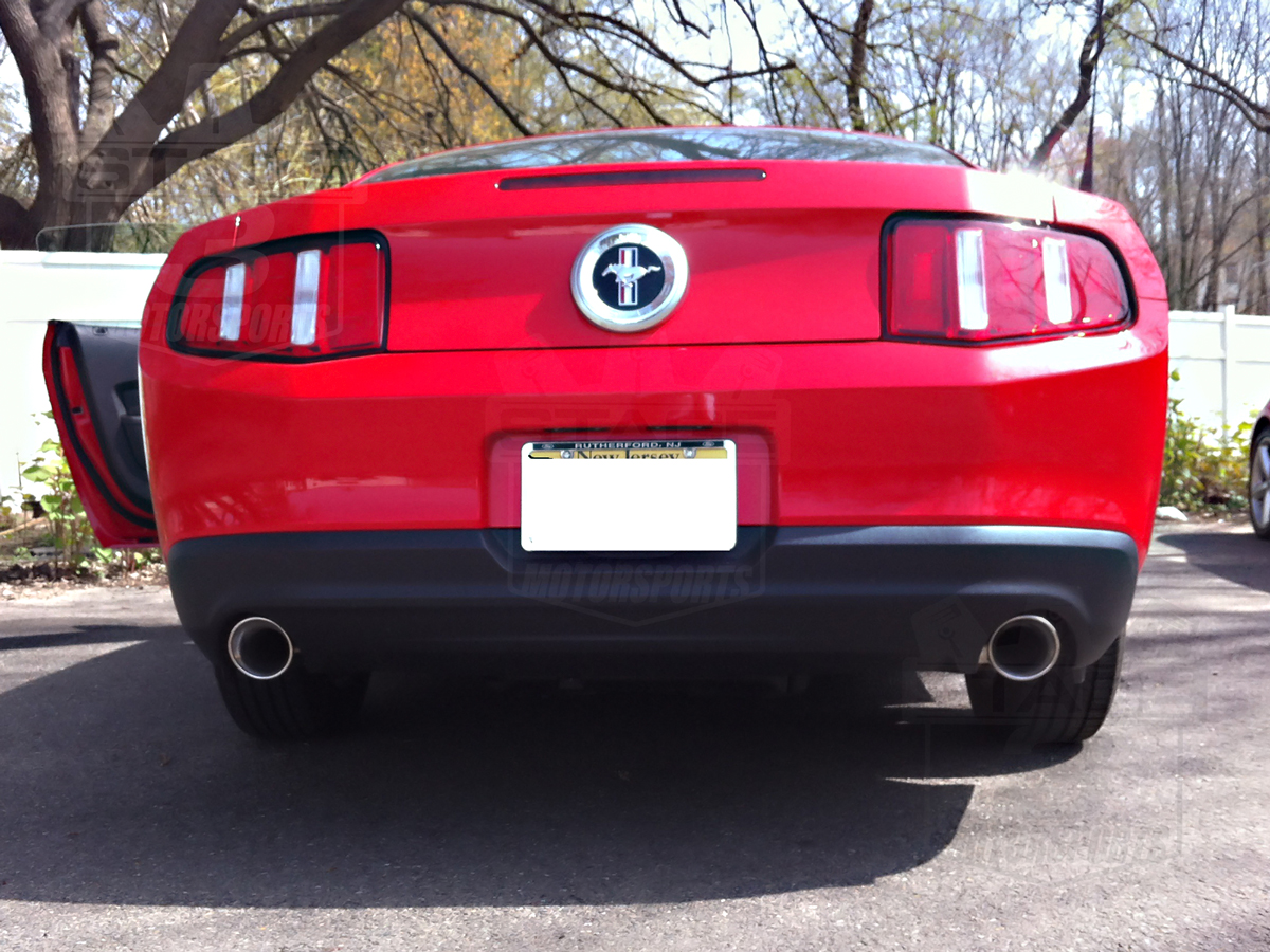 2011 2012 mustang v6 3 7l magnaflow cat back exhaust street