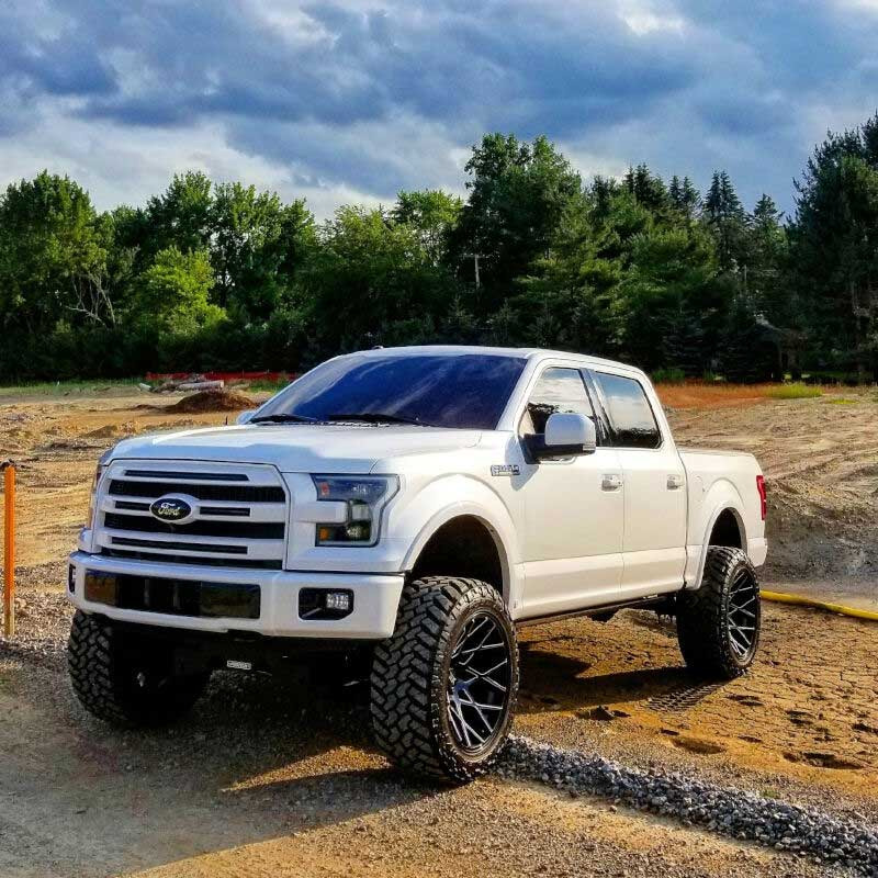 how to get spare tire off 2016 f150