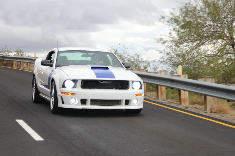 Michael Barton's Roush 427R